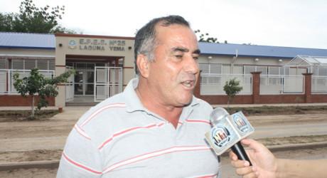 Luis Corvalán, intendente de Yema
