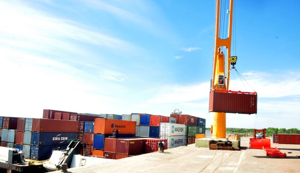 Histórico. El puerto de Formosa comenzó a operar.