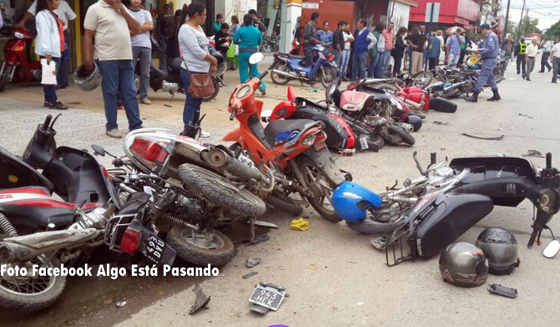 motos chocadas AEP