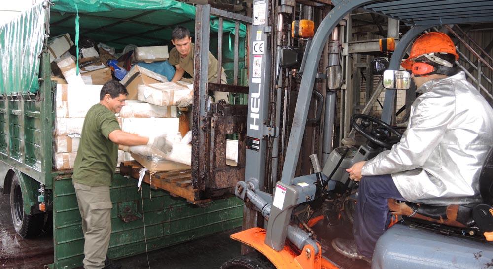 En 3 meses incineraron 20 toneladas de droga secuestrada en Chaco y Formosa.