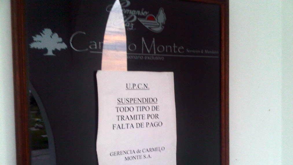 Por ahora, los afiliados a UPCN no podrán hacer trámites en el cementerio.