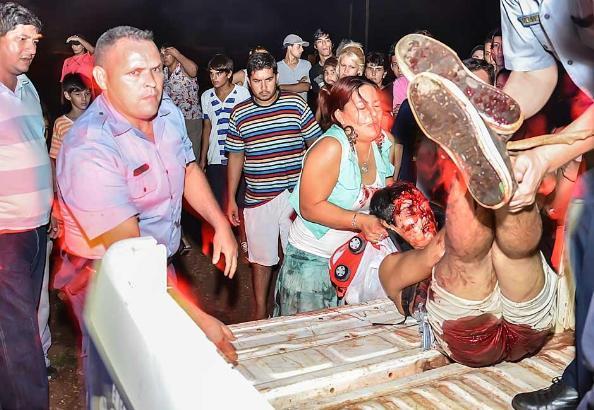 En Garupá (Misiones) hubo un linchamiento. VER.