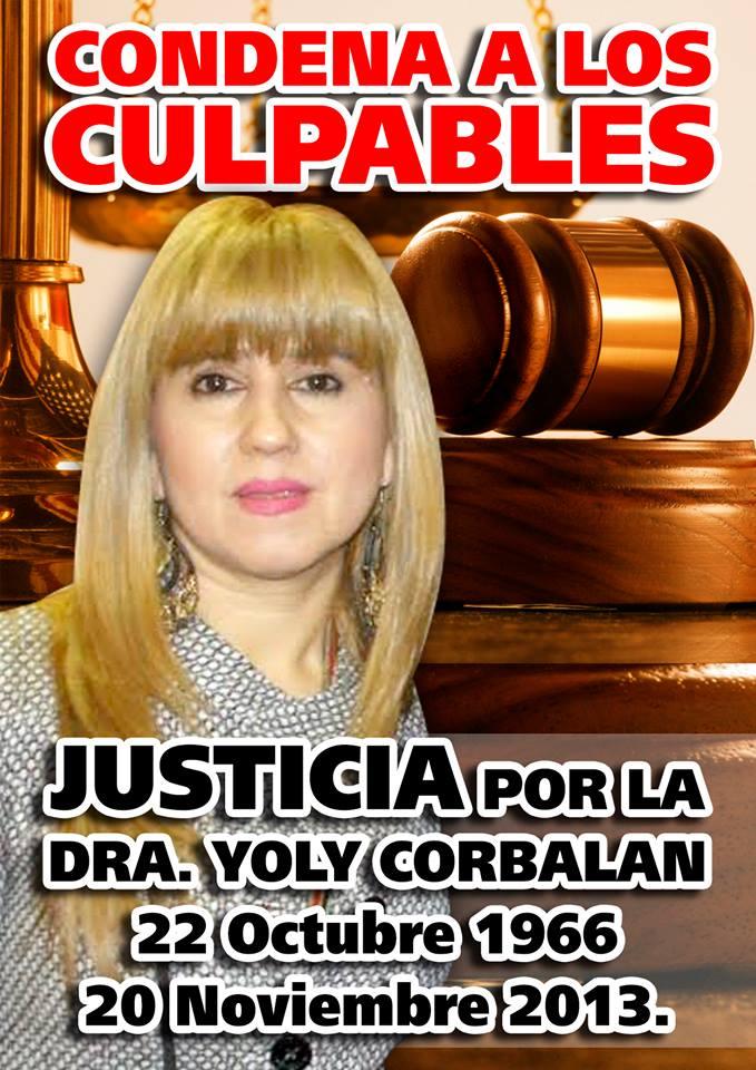 yoly corbalán justicia
