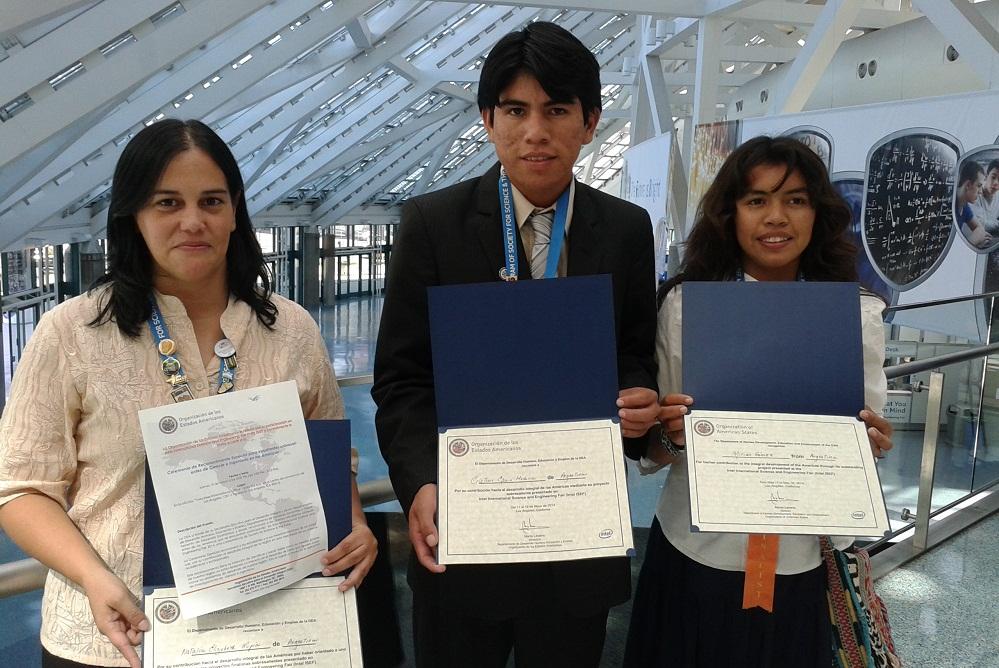 Estudiantes Argentinos de la comunidad wichí de Formosa fueron premiados en EE.UU.