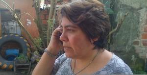 María, la esposa de Monchito es docente.