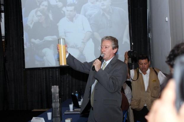 Ricardo Caraviglio, gerente de Dioxitek.
