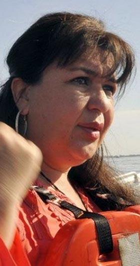 Mabel Gamarra, intendenta de Alberdi. Foto: ABC Color