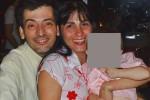 Franco Romero con su familia (Foto Facebook)