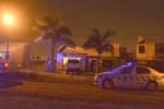 Sábado a la noche, varios móviles policiales en la casa de José Saavedra.