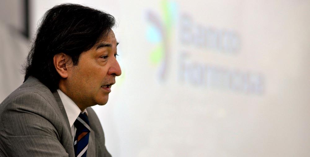 Daniel Higa, gerente Banco Formosa.