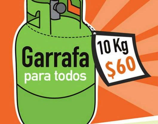 garrafa-precio nf 60 pesos
