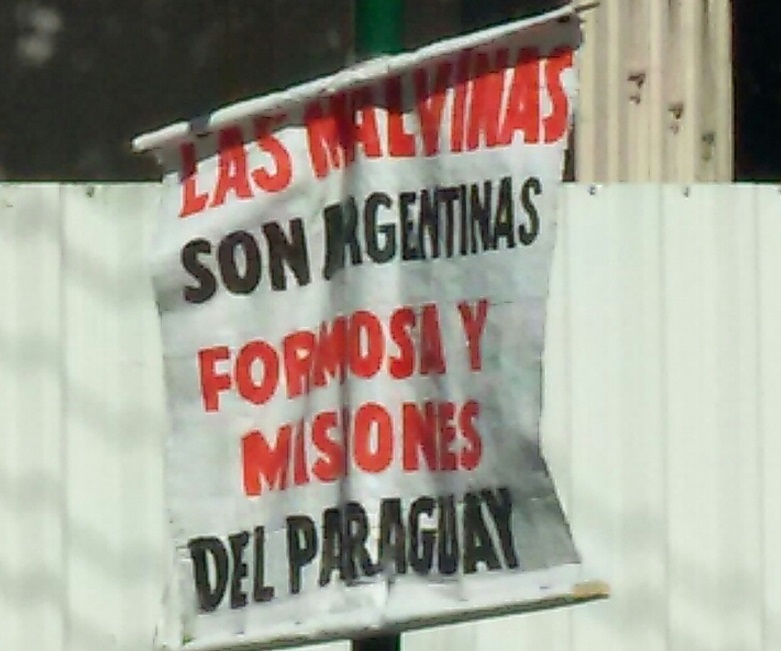 [Confirmado] Argentina le robó territorios a Paraguay