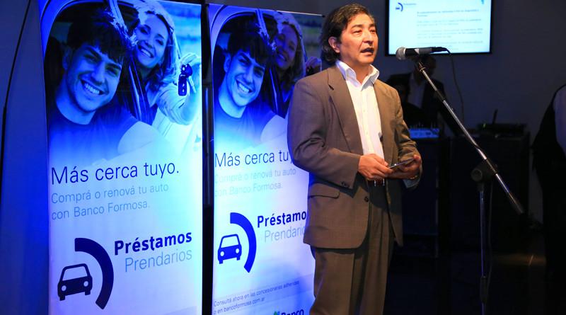 Daniel Higa, gerente genral del Banco Formosa.