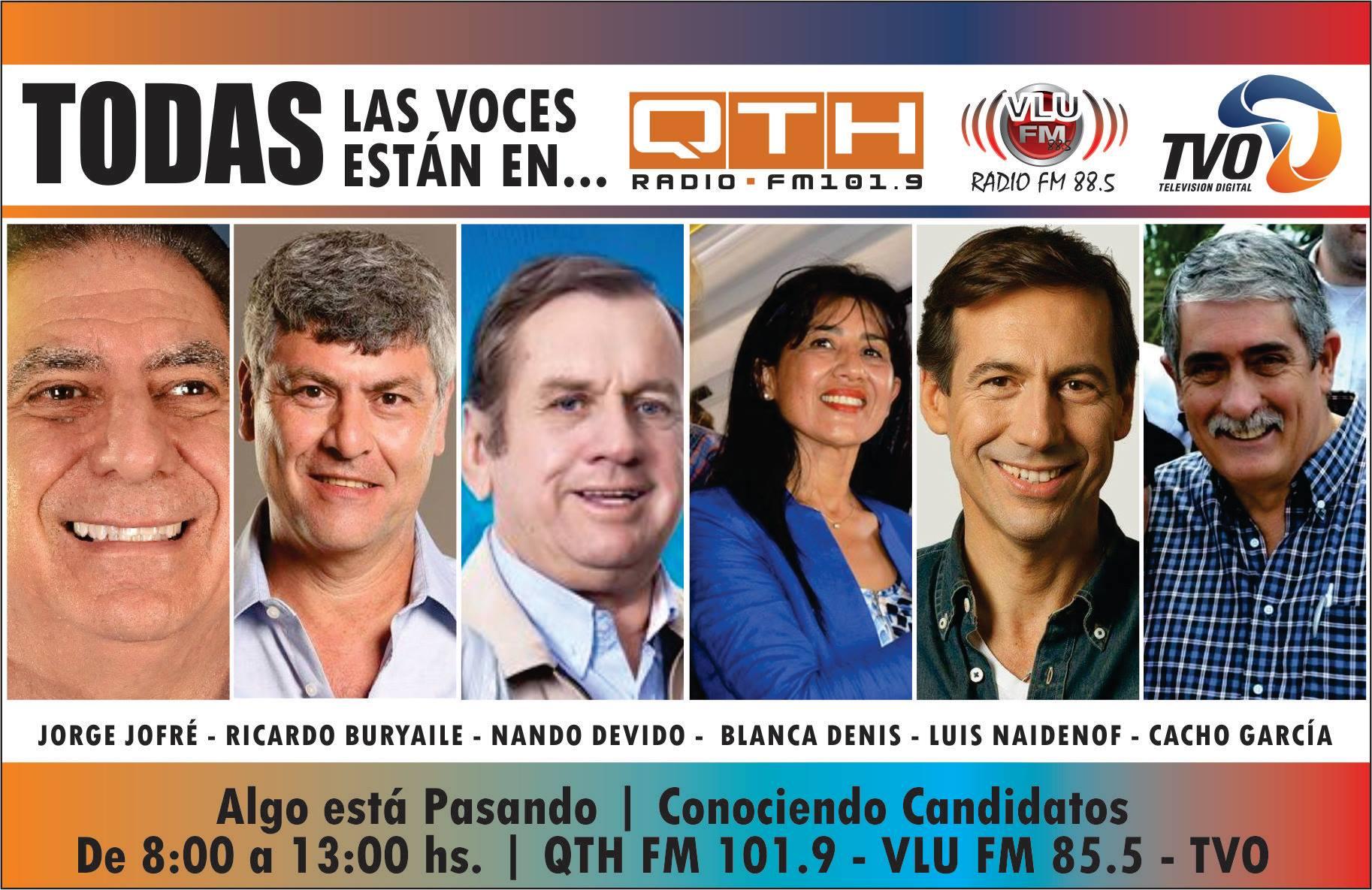 todos los candidatos qth