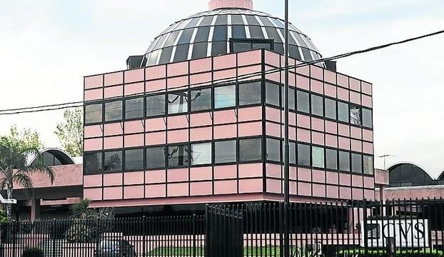 No es la Casa de Gobierno de Formosa, es la sede de Ciccone Calográfica. Ese nombre que preocupa a Insfrán.