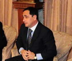 Juez Federal correntino, subrogante en Formosa, Juan Carlos Vallejos. Adelantó su regreso de la vacaciones para hacerse cargo de la mediática causa de narcotráfico.