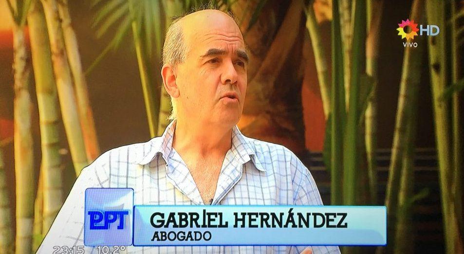 Gabriel Hernández denunció el caso en el programa de Lanata.
