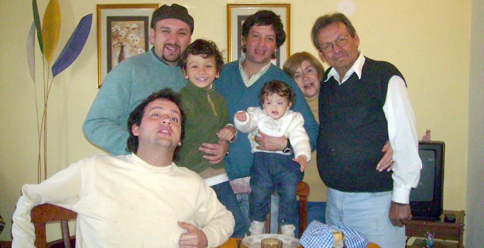La familia Machuca.